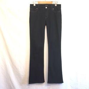White House Black Market Bootleg Dark Wash Jeans